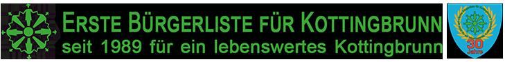 1BFK - Erste Bürgerliste für Kottingbrunn. Hier klicken um zur Homepage der Bürgerliste zu gelangen.